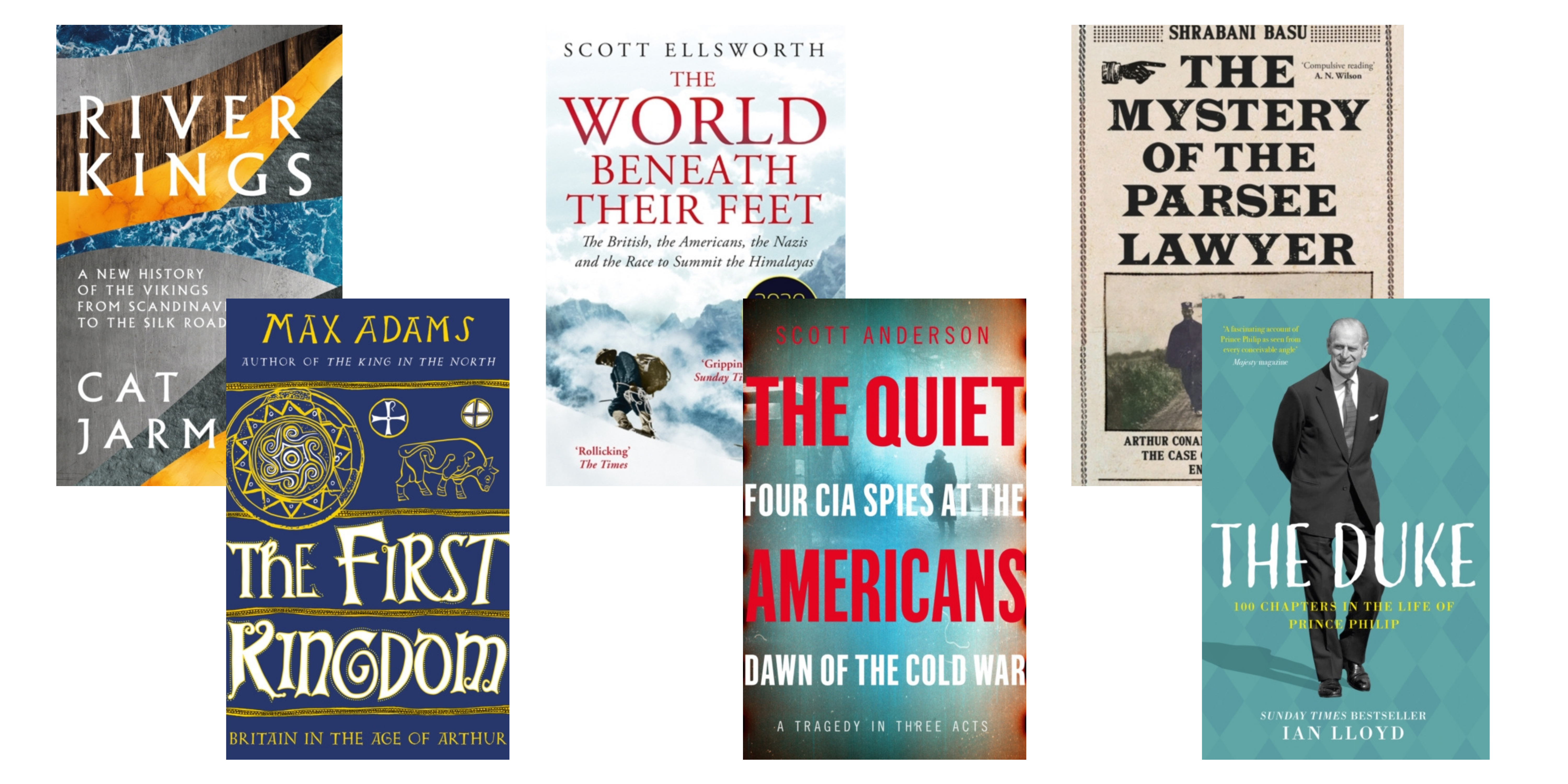 Upcoming Books for History Books