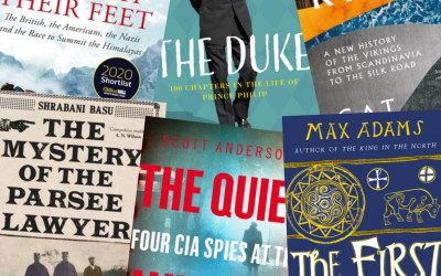 Upcoming books for history buffs