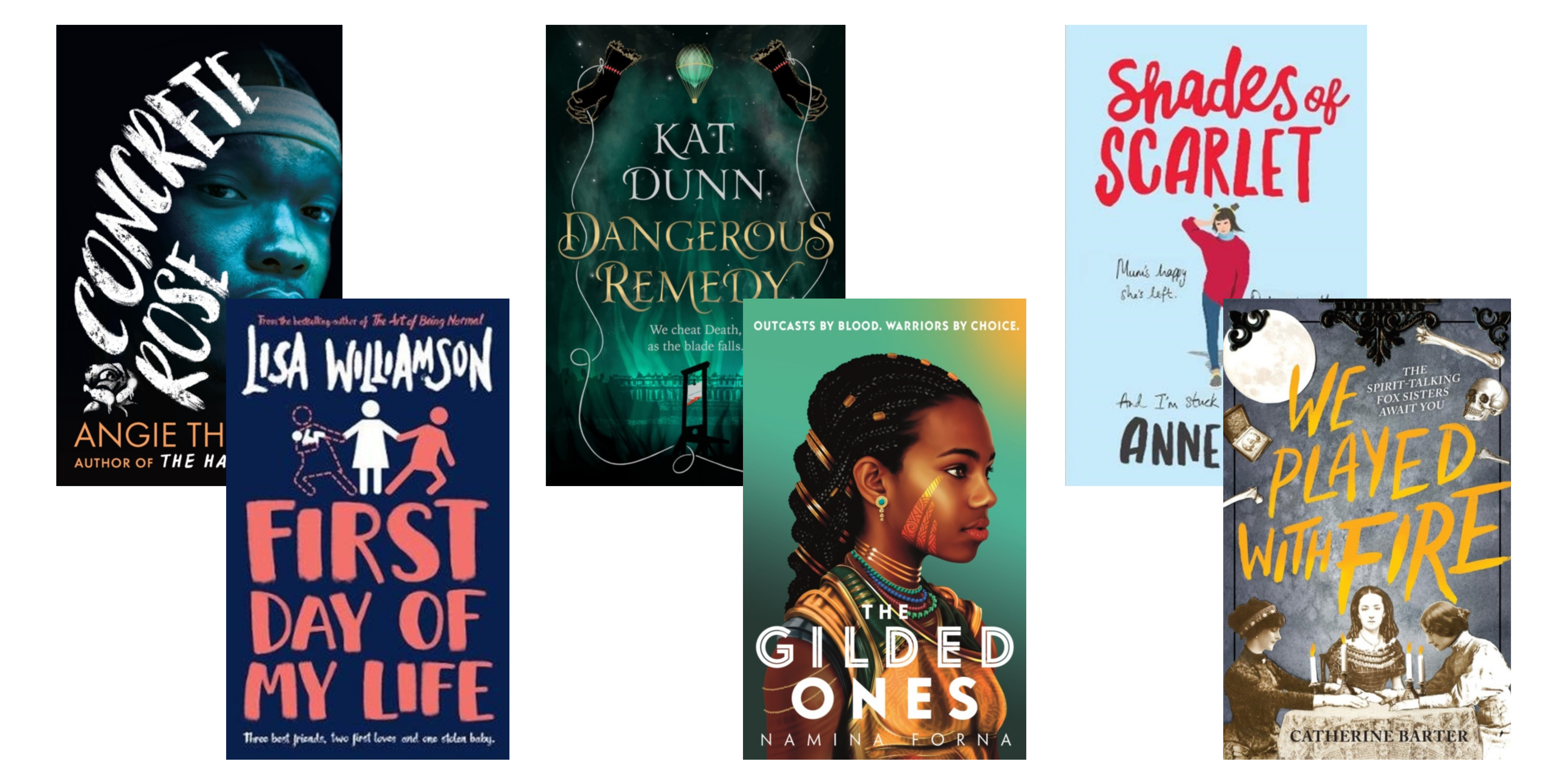 Upcoming YA Books