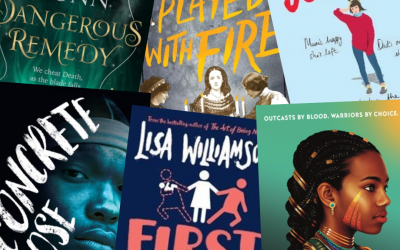 Krissy's top picks of the latest YA releases