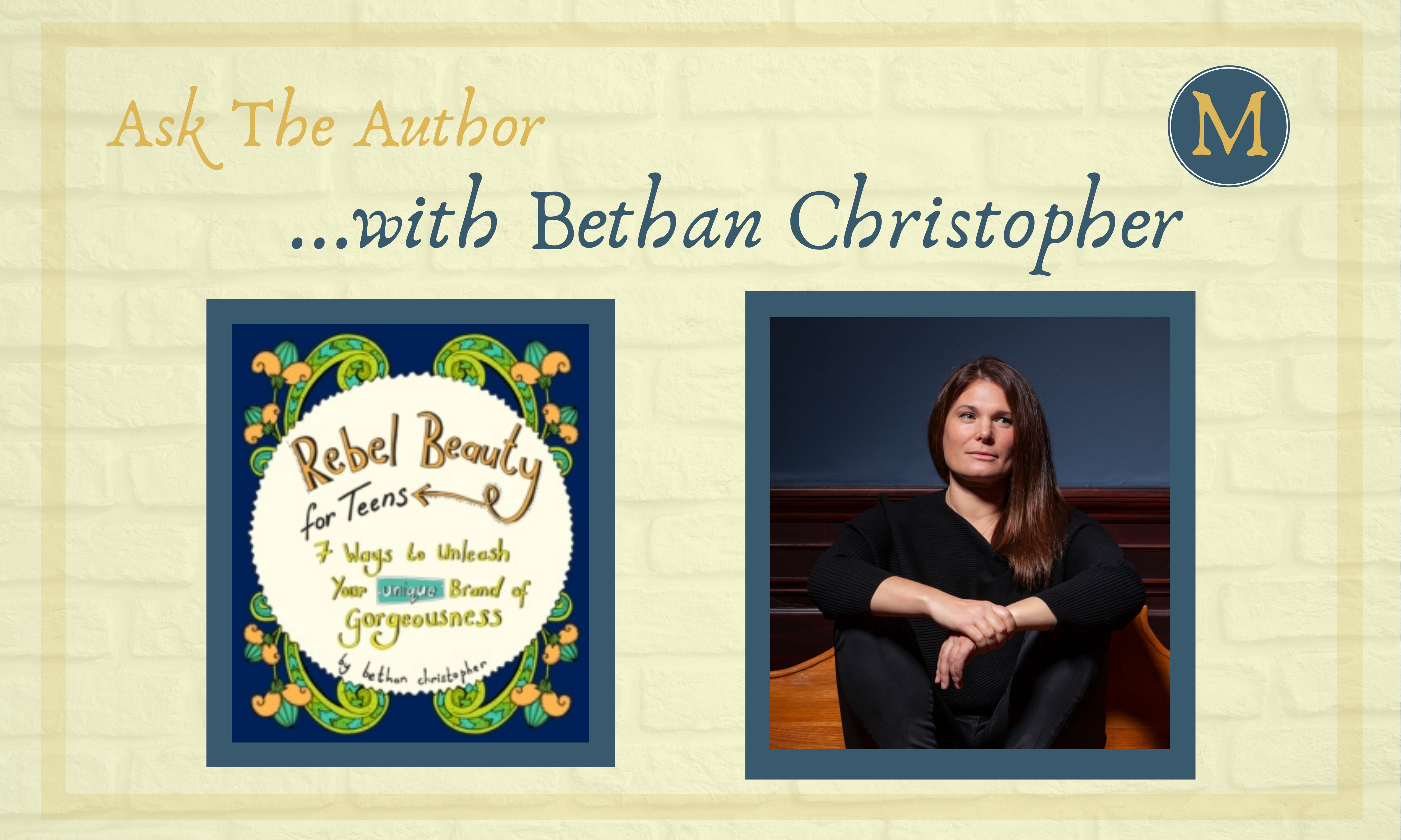 Ask the Author Bethan Christopher