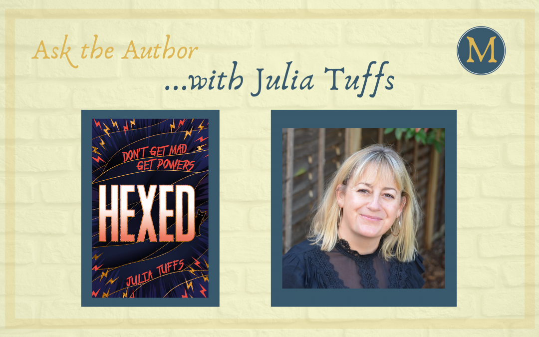 Ask the author …with Julia Tuffs