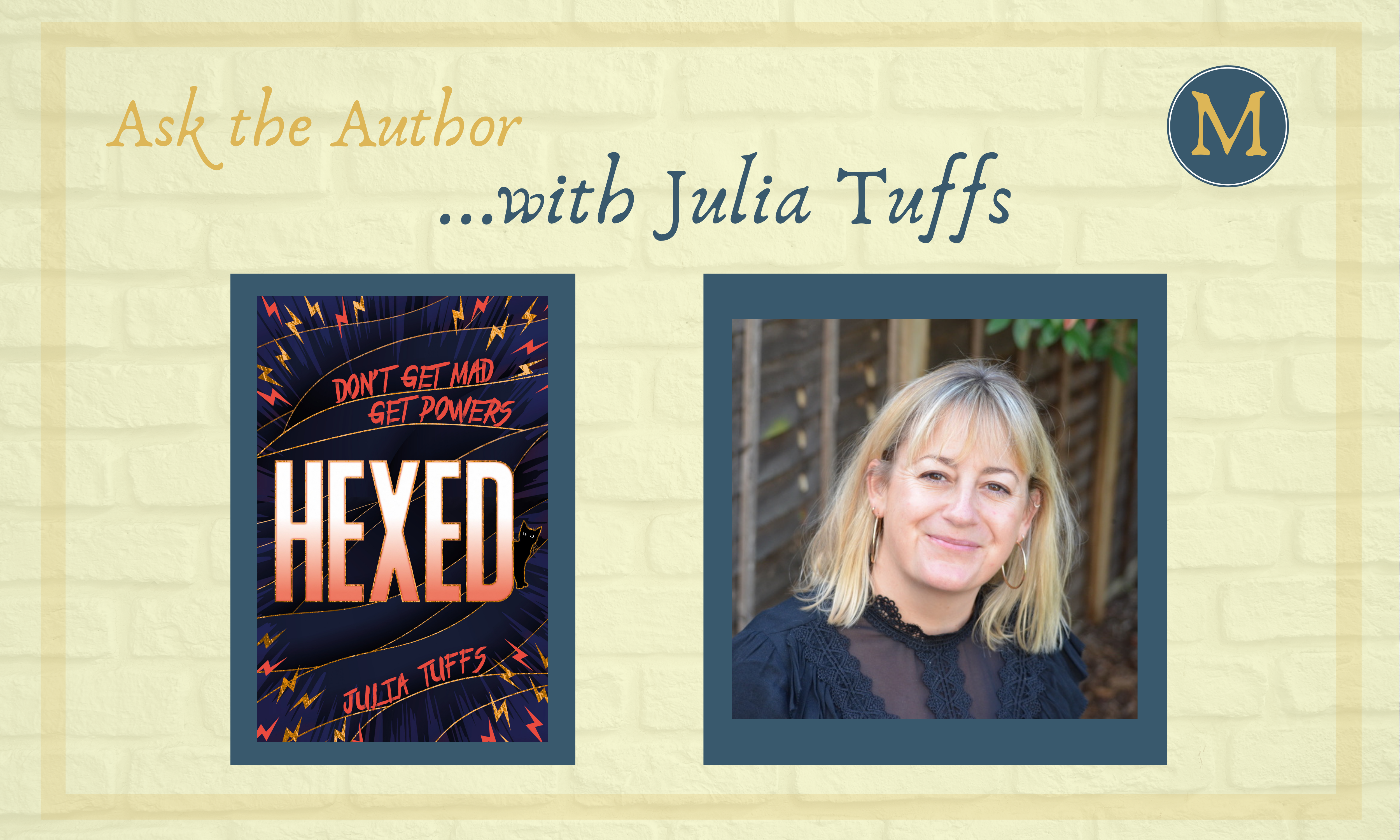 Ask the Author with Julia Tuffs